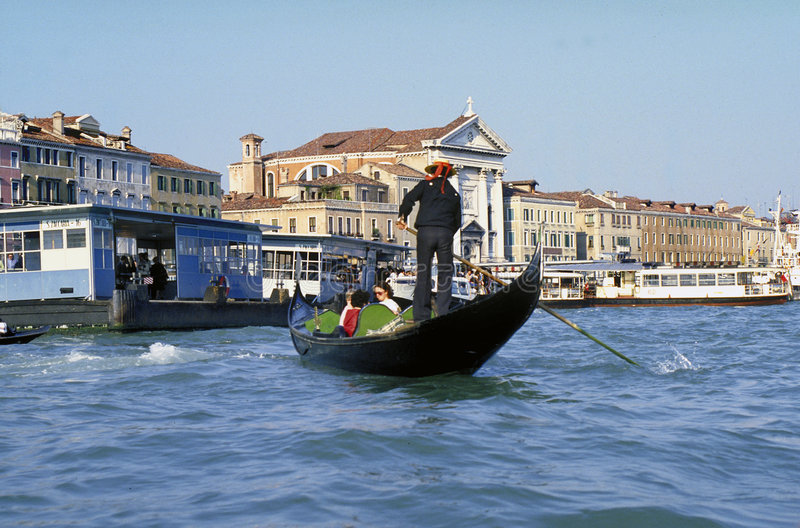 Download Venice Gondola stock photo. Image of water, antonio, blue - 252828