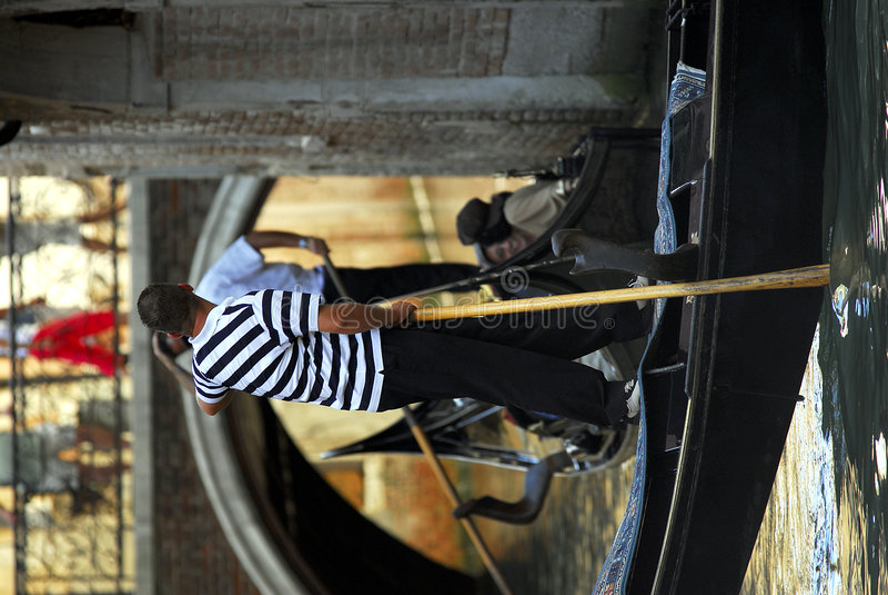 Free Venice - Gondola Series Royalty Free Stock Images - 1249579