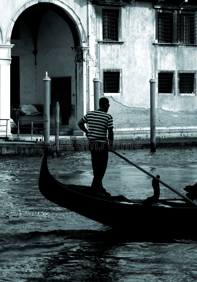Download Venice - Gondola Series Royalty Free Stock Photos - Image: 1250088