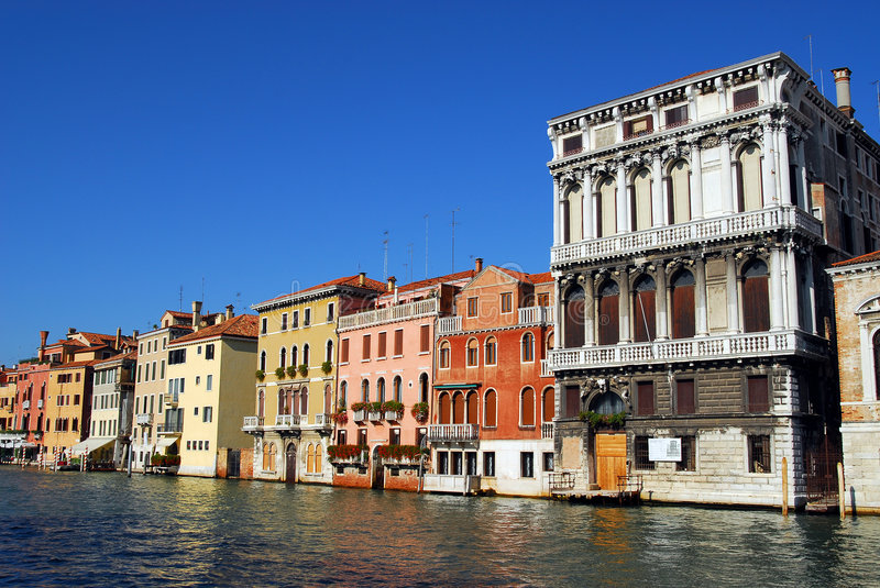 Venice - Grand Canal stock image