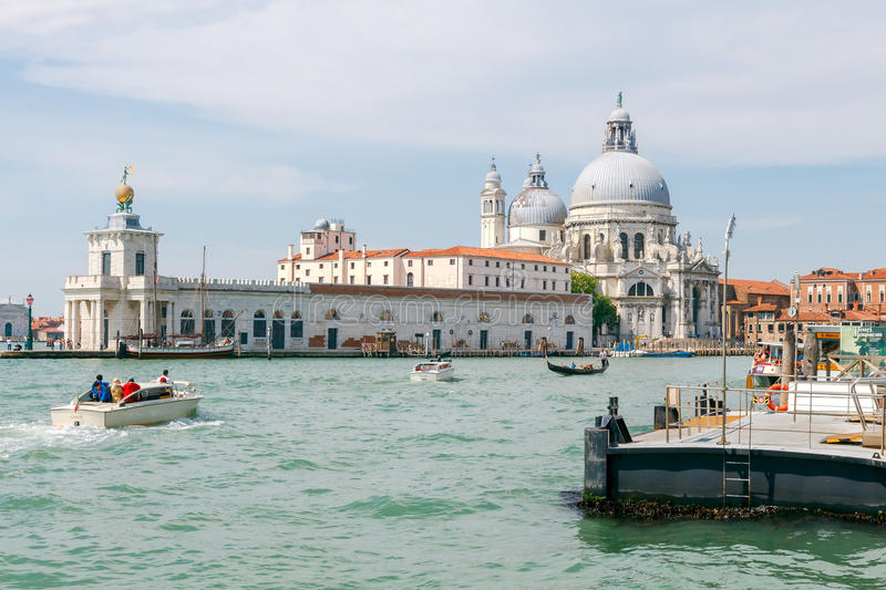 Venice. Grand Canal. royalty free stock photography