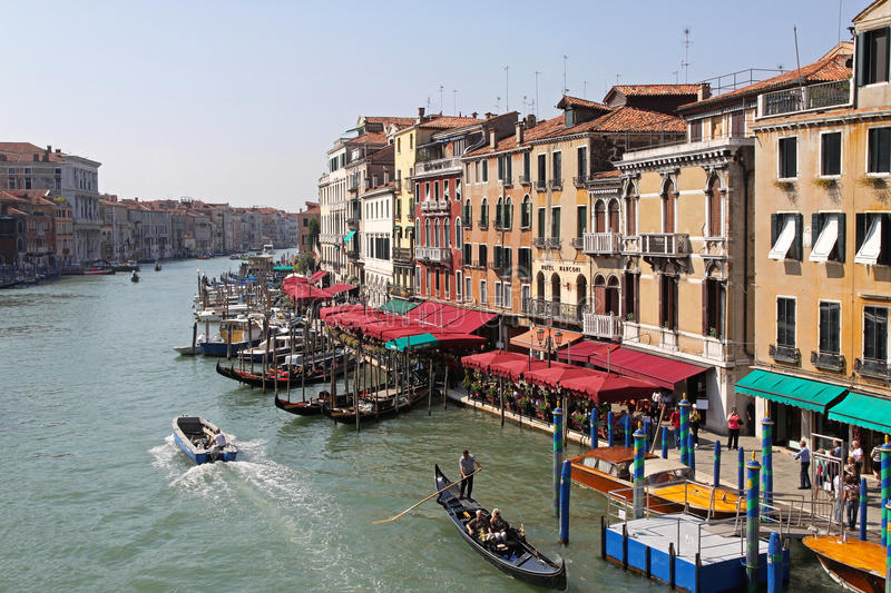 Download Venice Grand Canal editorial stock image. Image of boats - 34553059