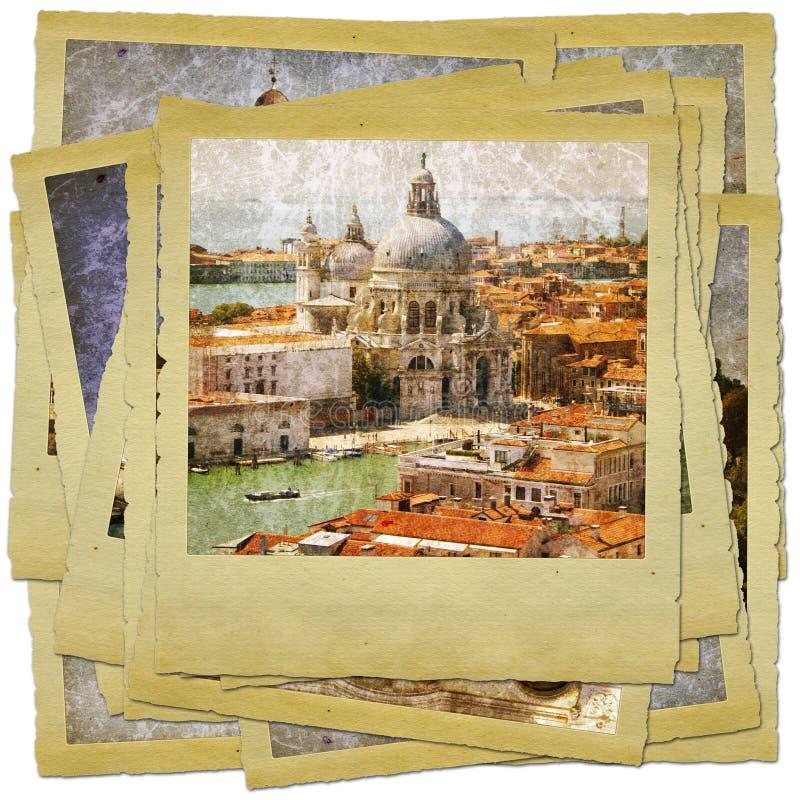 Venice - great italian landmarks stock illustration