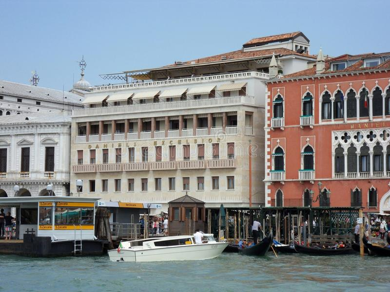 Venice - Hotel Danieli Excelsior Editorial Stock Image - Image of ...