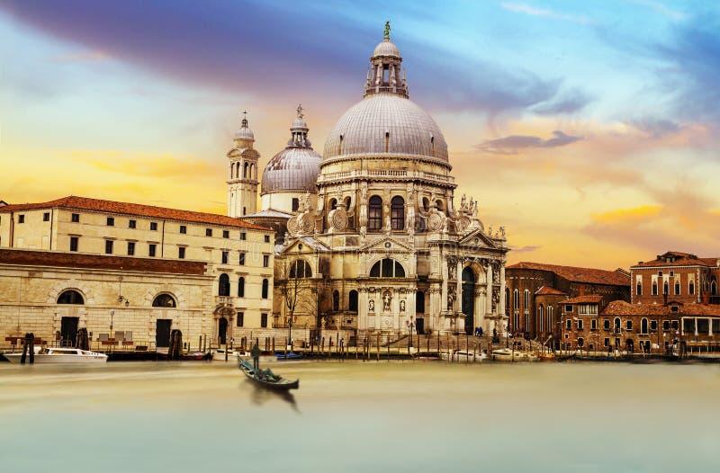 Venice, Italia. Basilica Santa Maria della Salute, Venice, Italia stock photography