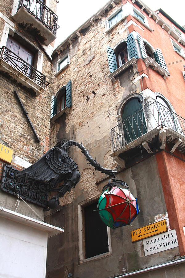 In Venice, Italy stock photo