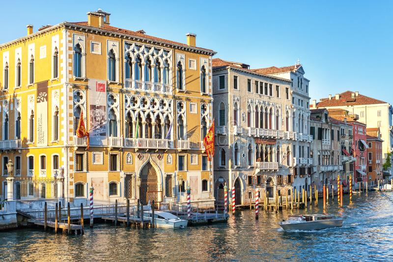 Venice, Italy - August 13, 2013: Old building house of Venice, Italy. European architecture. City landmark. Venice, Italy - August 13, 2013: Old building house stock photos