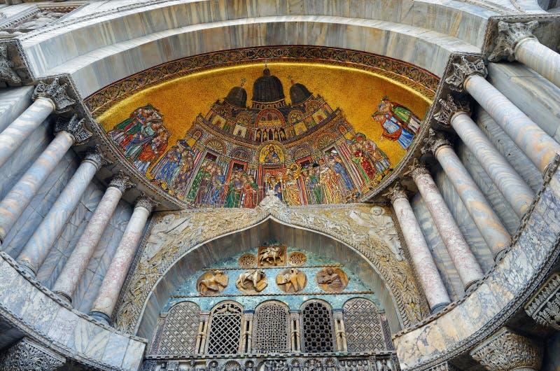 Venice, Italy. Basilica di San Marco stock image