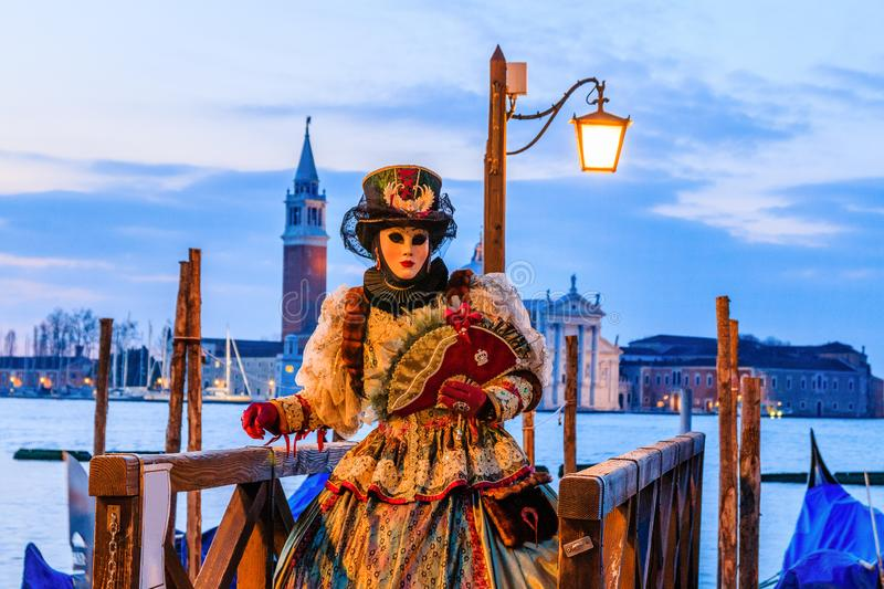 Venice, Italy. Carnival of Venice. royalty free stock images