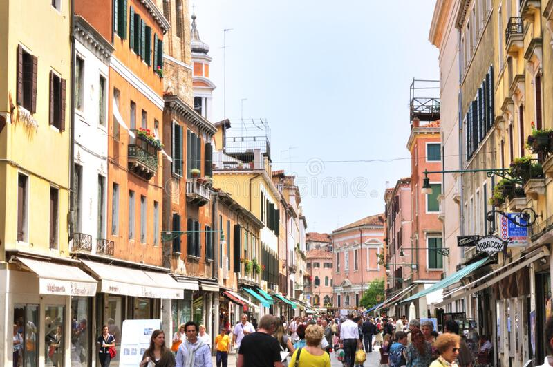 Venice Italy - Creative Commons by gnuckx royalty free stock image
