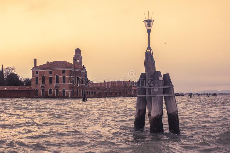 A visit of Venice when the tourists are not there royalty free stock photos