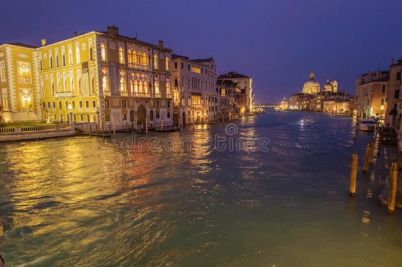 A visit of Venice when the tourists are not there royalty free stock images