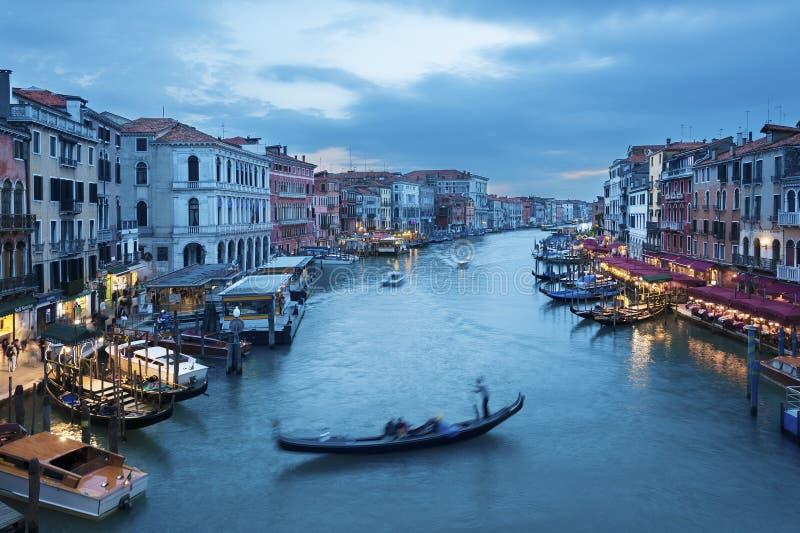 Venice, Italy. Grand Canal of Venice, Italy royalty free stock photos