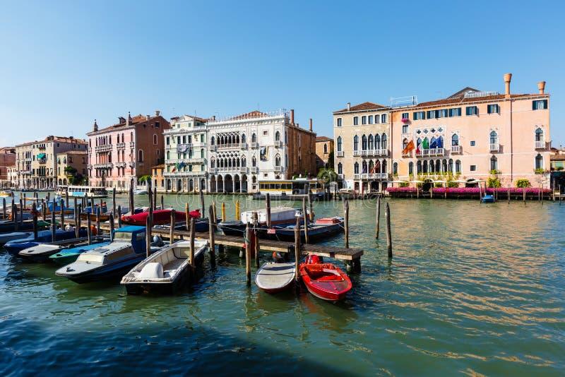 Ca` d`Oro or Palazzo Santa Sofia or Golden palace. Grand canal royalty free stock photo