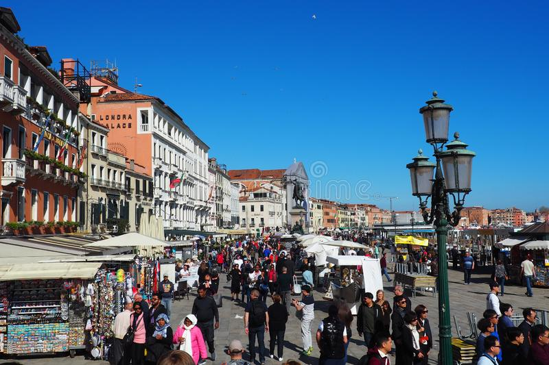 Venice Italy. One sunny day in Venice Italy royalty free stock images