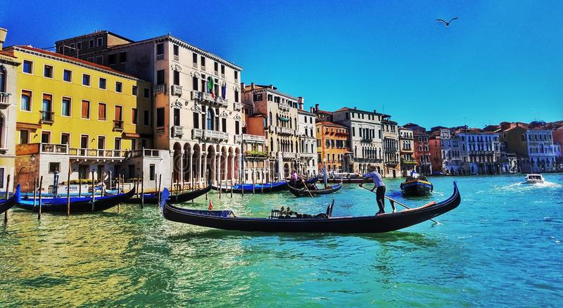 Venice at its Best stock photography