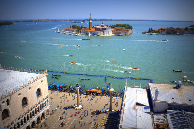 Venice lagoon Italy stock images