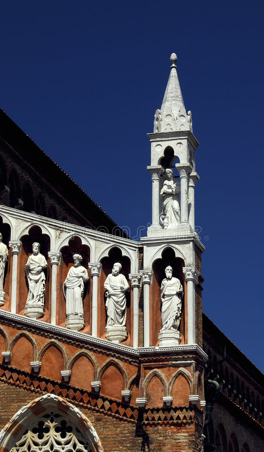 Venice - Madonna dell'Orto royalty free stock photography
