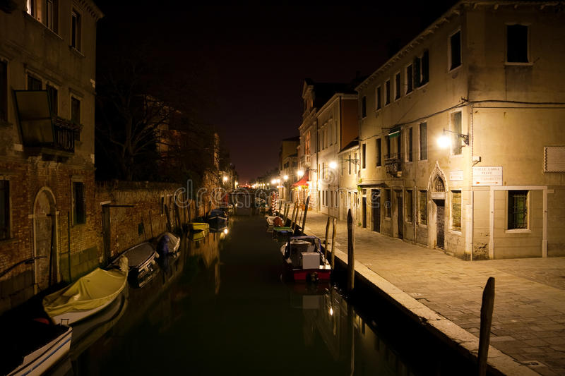 Download Venice at night stock photo. Image of scenic, italian - 11994130