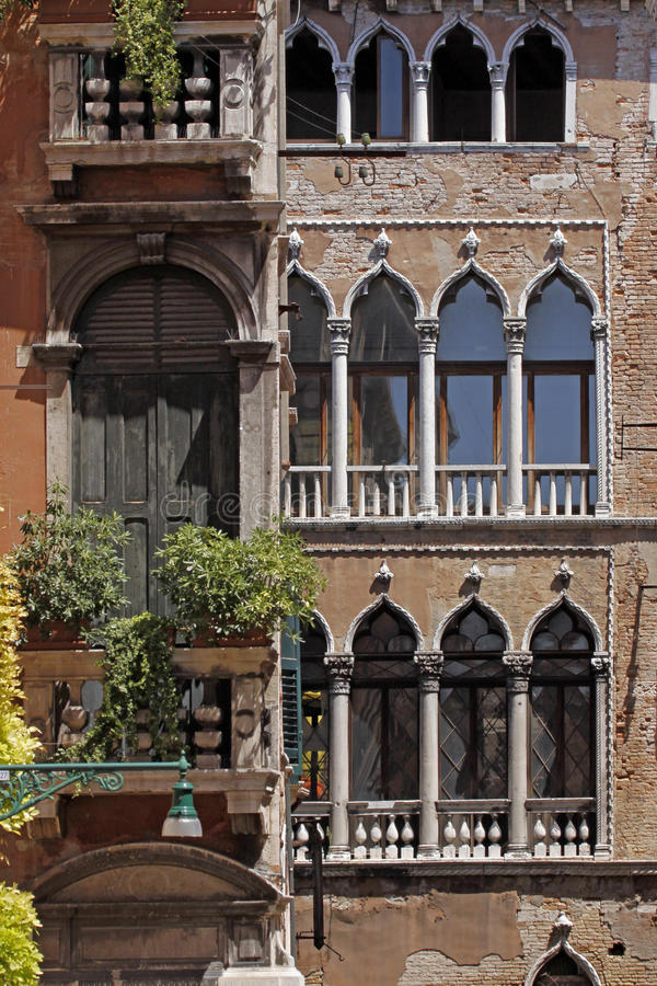 Free Venice, Palace With Facade Detail, Italy Stock Images - 15539164