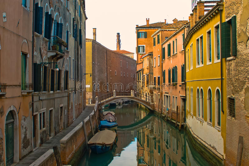 Download Venice stock image. Image of boat, weathers, street, bridge - 31171481