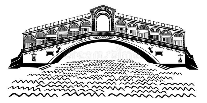 Venice - Rialto Bridge - Grand Canal stock photos
