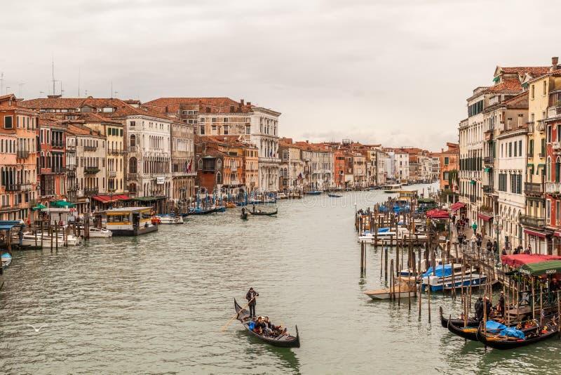 Venice from Rialto Bridge stock images