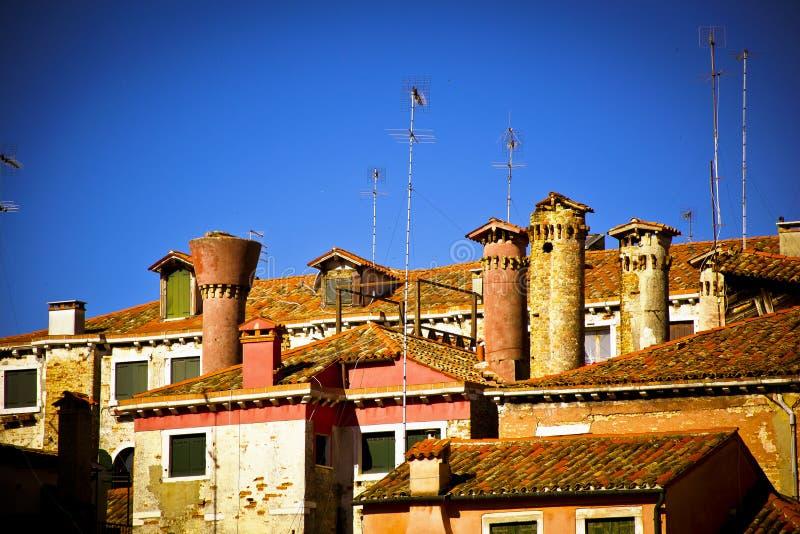 Venice roofs royalty free stock photo