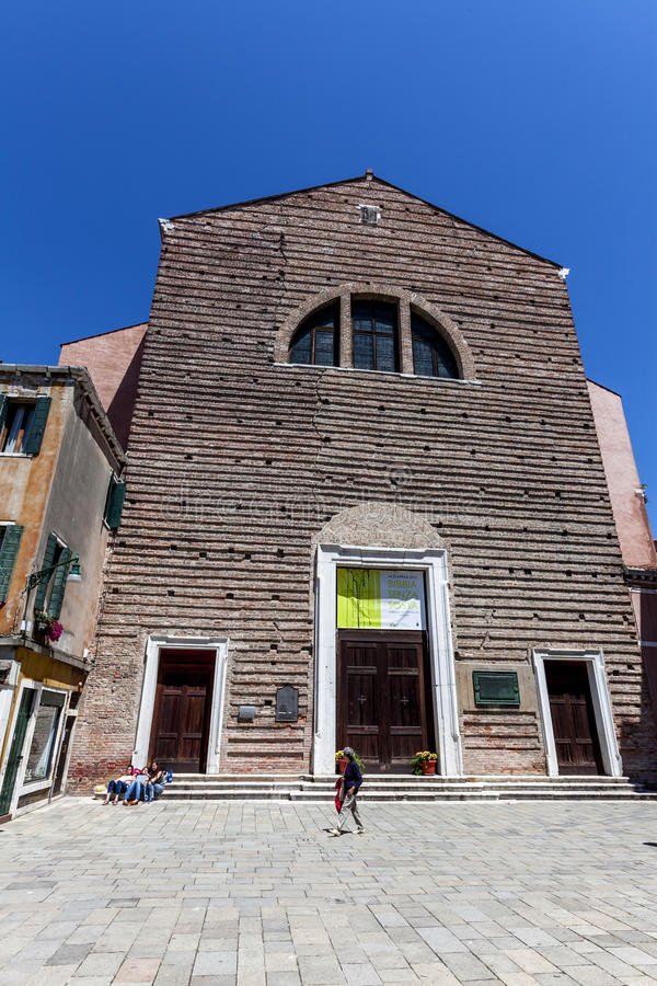 Download Venice's Church Editorial Stock Image - Image: 31342489