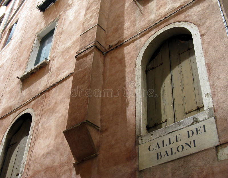 Venice's house royalty free stock photos