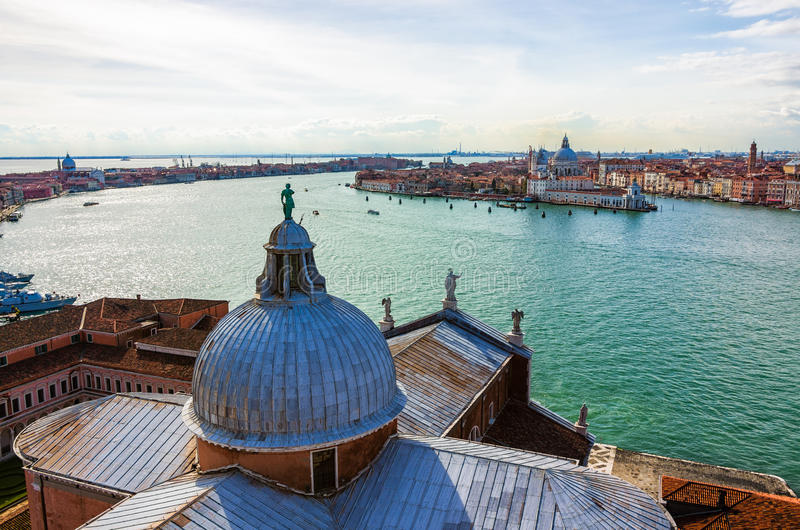 Venice from San Giorgio stock images