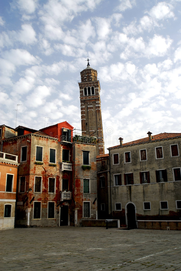 Download Venice - Santa Stefano stock image. Image of houses, italy - 1207959