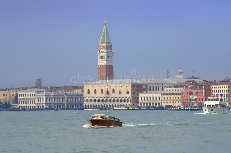 Venice seascape royalty free stock image