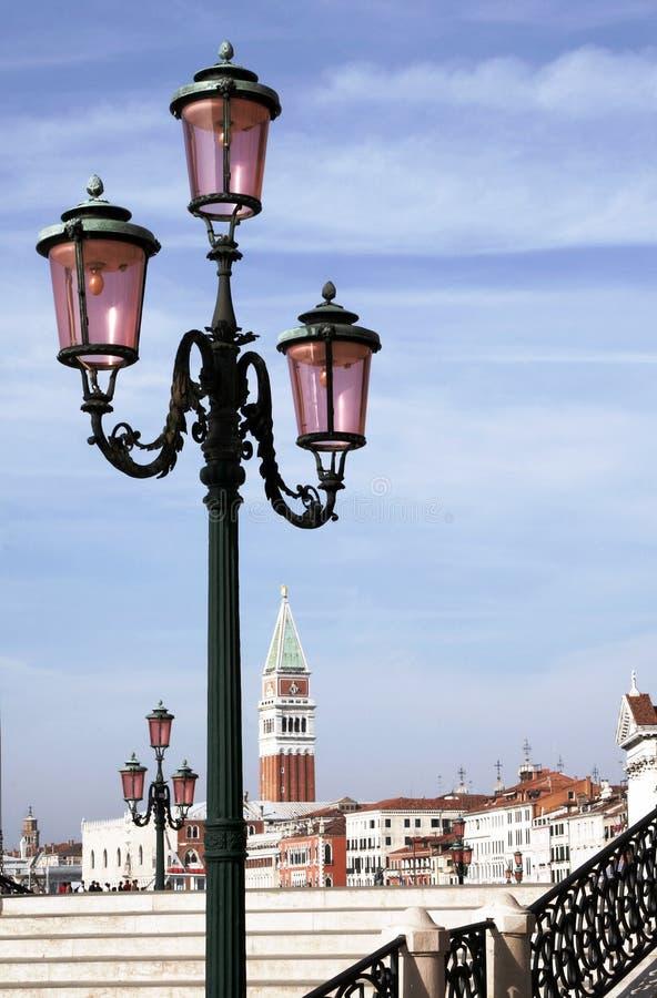 Venice Street Light royalty free stock images