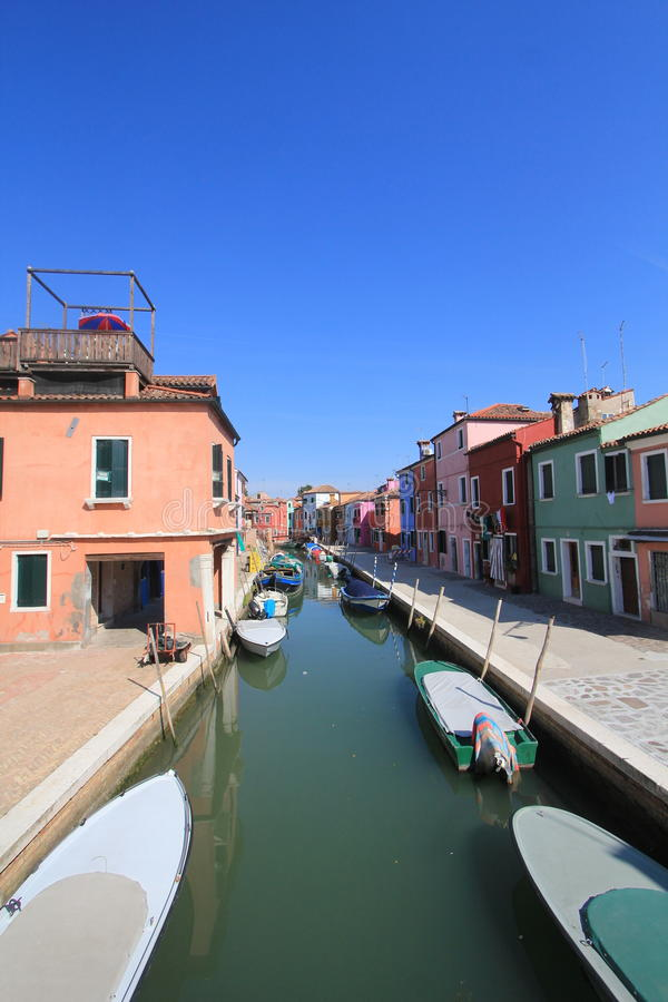 Waterway, canal, sky, body, of, water, transportation, town, reflection, boat, channel, harbor, marina, city, house, sea, watercra. Photo of waterway, canal, sky stock photo