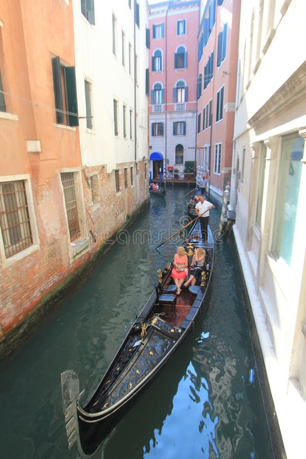 Waterway, gondola, water, transportation, boat, vehicle, watercraft, canal, channel, boating, rowing. Photo of waterway, gondola, water, transportation, boat stock images