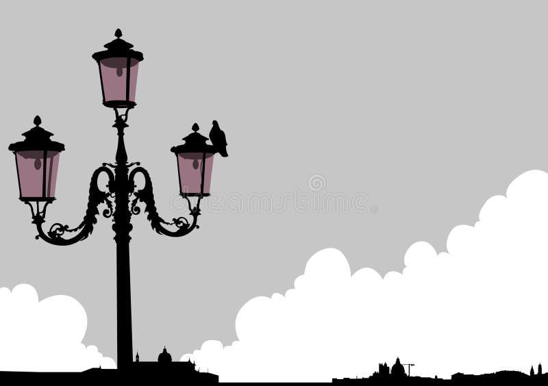 Venice Streetlight Stock Photo