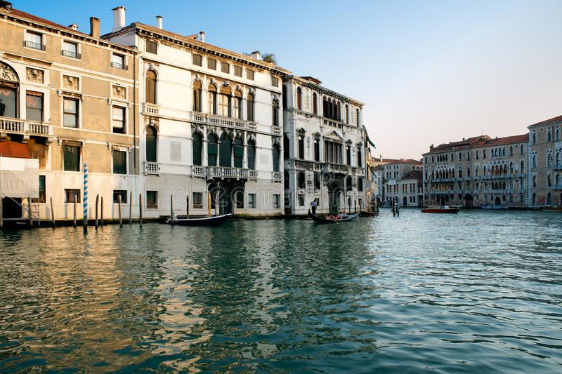 Venice At Sunset. Italy Royalty Free Stock Image