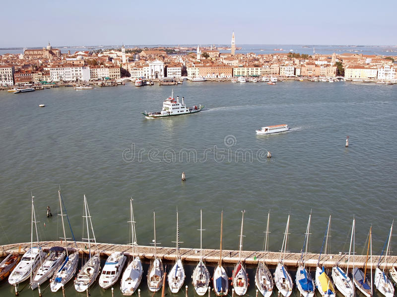Download Venice from the top stock image. Image of pier, romantic - 18157699
