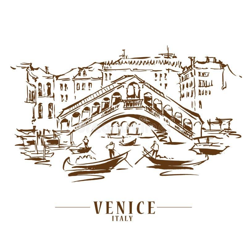 Free Venice Vector Illustraton Stock Images - 149501874