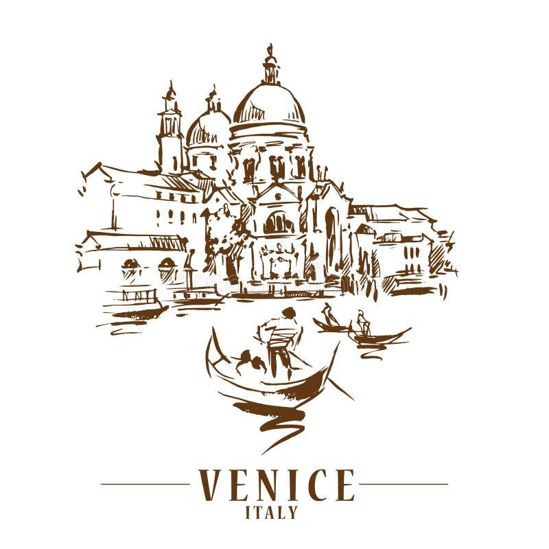 Free Venice Vector Illustraton Royalty Free Stock Photo - 149501875