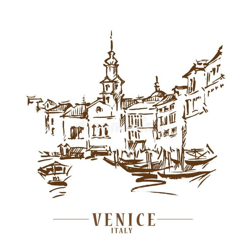 Free Venice Vector Illustraton Royalty Free Stock Photo - 149501895