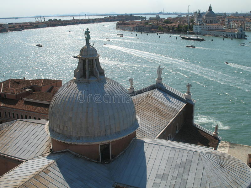 Venice, view of the lagoon royalty free stock photography