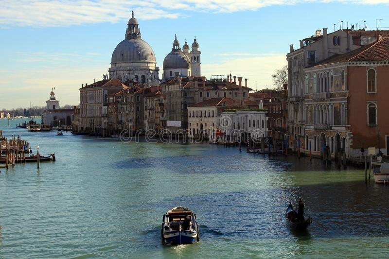 Venice waterfront buildings royalty free stock image