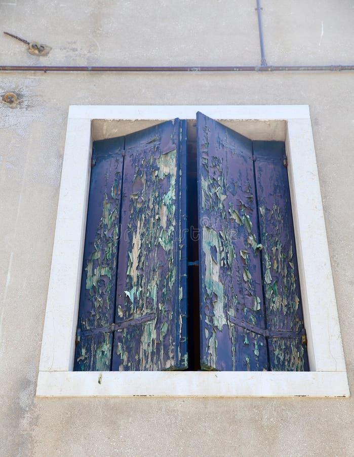 Venician okno obrazy royalty free