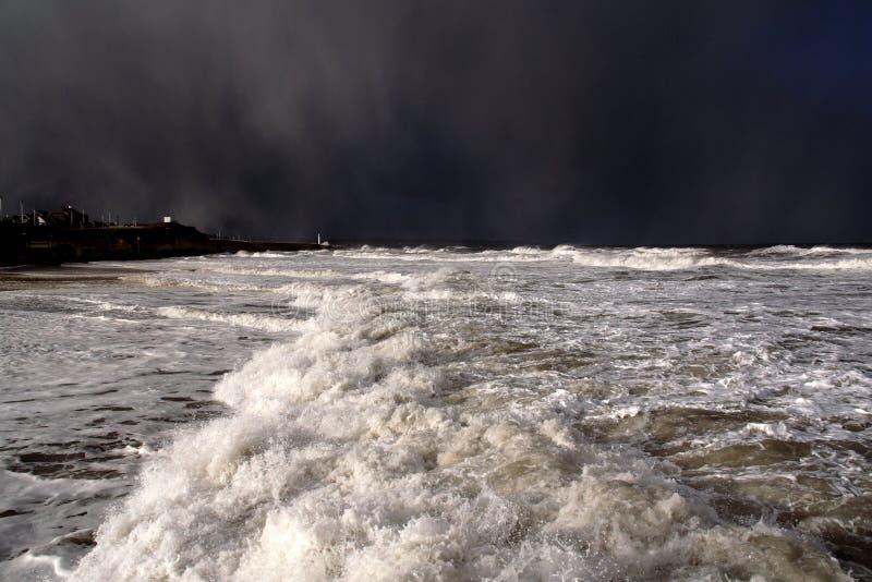 Venir de tempête photo stock