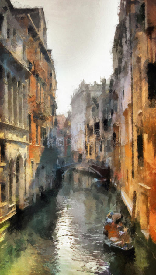 Venise illustration libre de droits