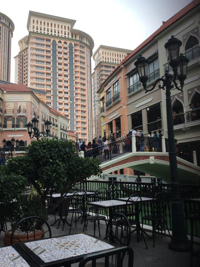 Venise au coeur des Philippines photos stock