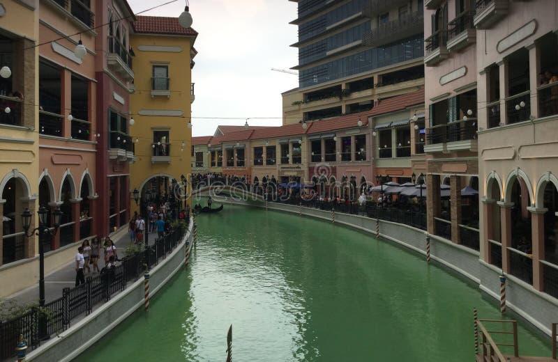 Venise au coeur des Philippines photo libre de droits