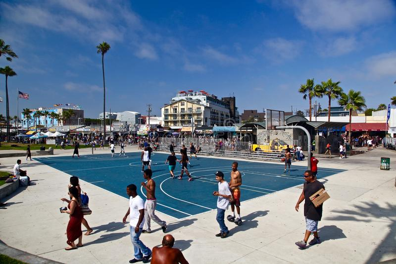 Venise Beach, Santa Monica, California stock photos